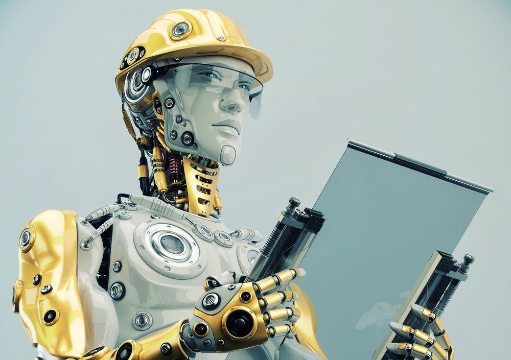 картинки о замене человека роботами это