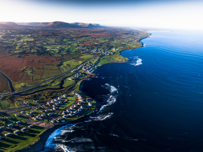 Beautiful Donegal coastline.
