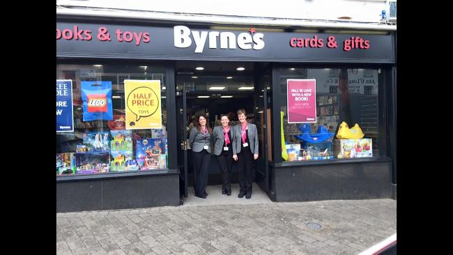 Byrnes toy shop in Gorey.