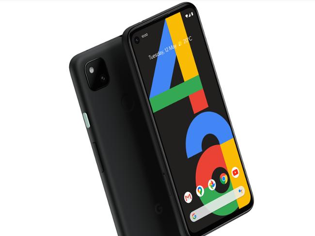 New Google Pixel 4a smartphone.