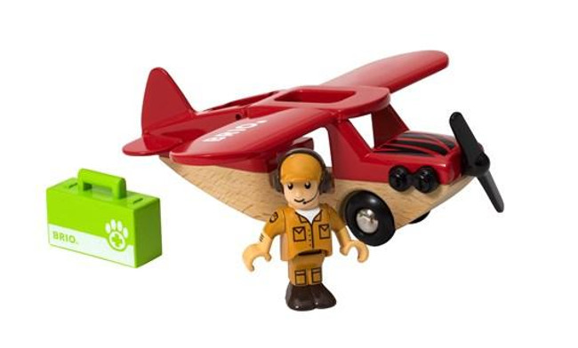 toy airplane.