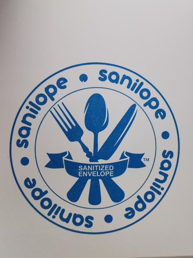 Sanilope logo.