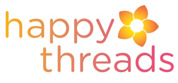 Happy threads logo.