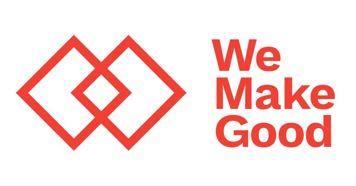 We Make Good logo.