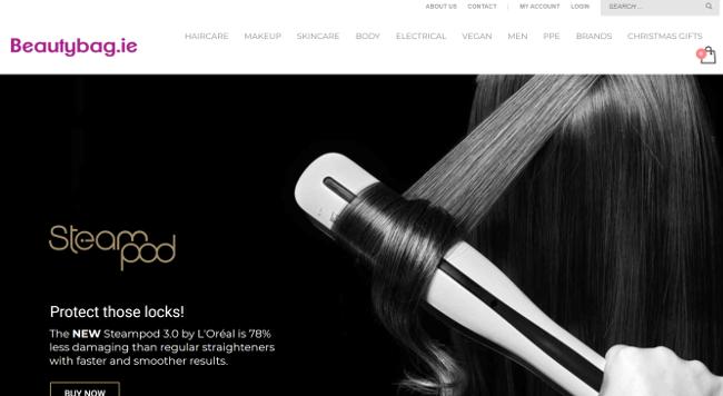 Beautybag website.