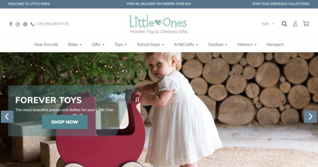Website for Littleones.