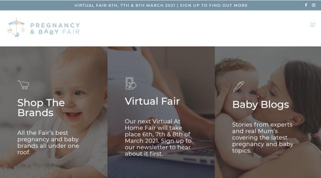 Pregnancy & Baby Fair website.