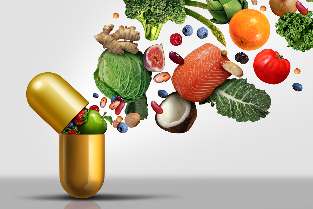 Food types emerging from a nutritional supplement.