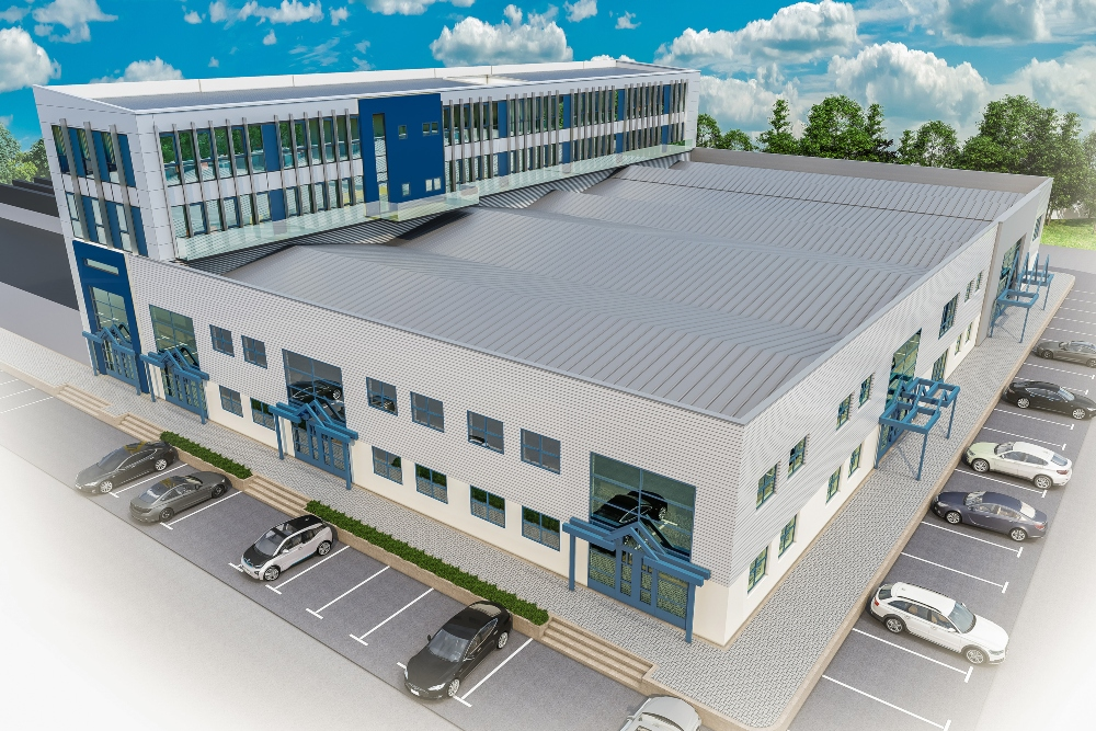 Artist's impression of the proposed new AcademyWest facility in Galway, Ireland.