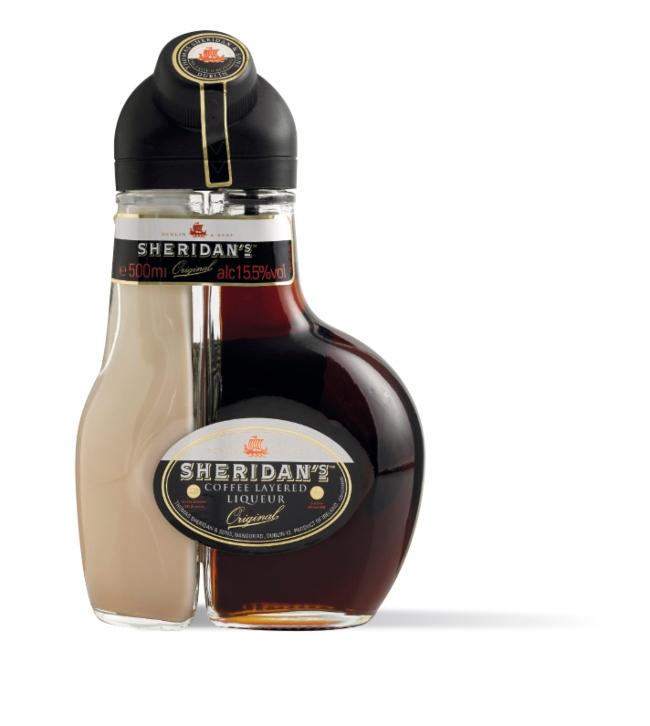 Bottle of Sheridan's.