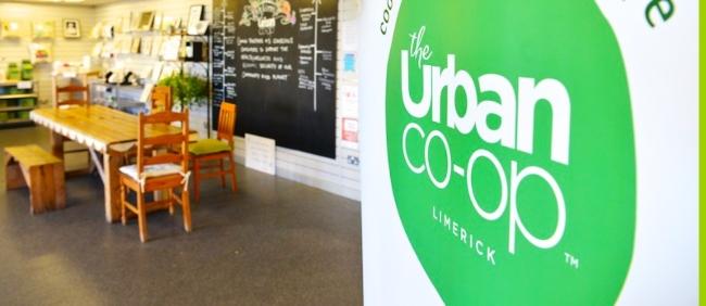 Inside the Urban Co-Op in Limerick.