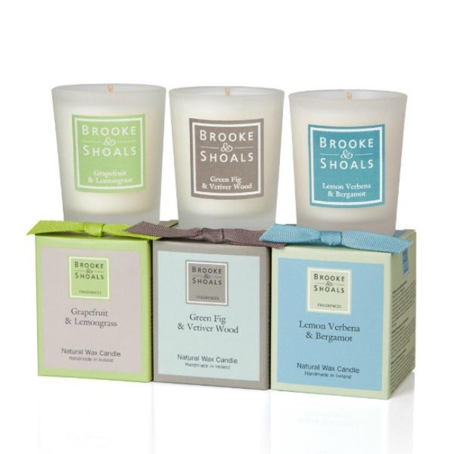 Brooke & Shoals candle products.