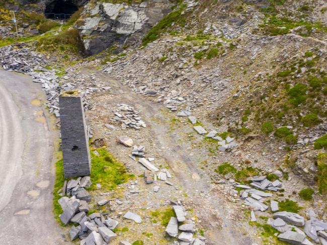 Quarry in Valentia, Kerry.